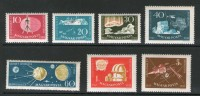 HONGRIE 1959 ESPACE YVERT N°1266/72 NEUF MNH** - Space