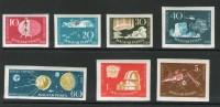 HONGRIE 1959 ESPACE YVERT N°1266/72 NON DENTELE NEUF MNH** - Space