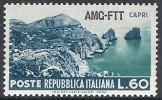 1954 TRIESTE A TURISTICA 60 LIRE MH * - RR10778 - Mint/hinged