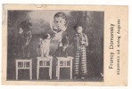 CIRCUS FRANCY DOMANSKY      Old Postcard - Zirkus