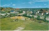 Flin Flon Manitoba Canada, Childrens Rotary Park, Playground Toys Swings, Home Architecture, 1950s Vintage Postcard - Manitoba