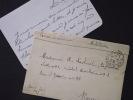 Correspondance D'un SOLDAT BLESSE De SAINT-GERMAIN à Une INFIRMIERE, HÔPITAL AUXILIAIRE N°1 De ROUEN - 22 Février 1915 - Covers & Documents