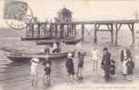 CPA 33 @ ARCACHON @ La Plage Et Le Débarcadère En 1905 @ Bateau ARC 5577 - Arcachon
