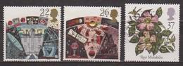 Observatoire D'Armagh, Radio Télescope, Astronomie - GRANDE BRETAGNE - Flore, Fleur: Rose Mutabilis - 1990 - 1952-.... (Elizabeth II)
