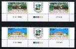 POLYNESIE 1990 N° 358A/359A** Neufs = MNH Superbes Non Pliées Coin Daté Cote: 28 € Ville De Papeete Mairie Hôtel De Vil - French Polynesia