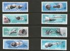 HONGRIE 1966 ESPACE  YVERT N°1872/79NEUF MNH** - Space