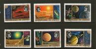 GUINEE 1973 ESPACE-COPERNIC  YVERT N°511/16 OBLITERE - Space