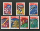 GUINEE EQUATORIALE 1974  ESPACE  YVERT N°329/35 NEUF MNH** - Africa