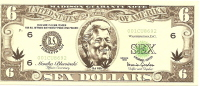 Billet US Humoristique/ Clinton/ Sex Dollars (6)/Faux Billet/1998           BIL37 - Stati Uniti