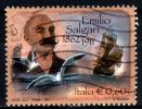 2073 - Italia/Italy/Italie 2011 - Emilio Salgari - Scrittore - Sandokan / Writer - Seagull - Sailing Ship - 2011-20: Used