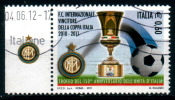 2088 - Italia/Italy/Italie 2011 - Sport - Calcio- Inter Vincitrice Della Coppa Italia Con Appendice/Soccer - Italian Cup - 2011-20: Used