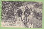 Frontière Franco Suisse : Douaniers Français Se Rendant à L'Embuscade. 2 Scans. Edition Michaux - Aduana