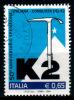 2112 - Italia/Italy/Italie 2004 - Congiunta Conquista Del K2 / Joint Issue - 2001-10: Used
