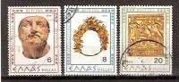 Greece 1979 / Mi 1365/66 , 1370 - Verghina - Used (o) - Oblitérés