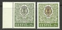 ESTLAND Estonia 1994 Michel 227 Color Tones Farbtöne MNH - Estonie