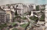 BR7012 Alger Le Boulevard Laferriere Et Le Monumont Aux Morts 2 Scans - Postkaarten