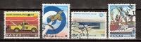 Greece 1980 / Mi 1433/36 - Anniversaries & Events , Part II - Used (o) - Oblitérés