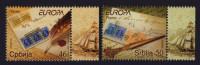 Serbie Serbia Europa Cept 2008 ** Lettre Letter Lettera - Bords De Feuille Illustrés - 2008
