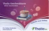 Germany - Allemagne - Thalia Book Store - Torte - Carte Cadeau - Carta Regalo - Gift Card - Geschenkkarte - Frankreich