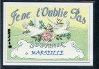 13  MARSEILLE   ...  Souvenir Au Fusain Creation Moderne Série Limitée Et Numerotée 1 à 10 ... N°3 / 10 - Marsella