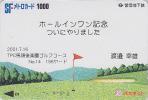 Carte Prépayée Japon - Sport - Japan Sports Prepaid Card Karte - 444 - Deportes