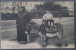 CPA 06 NICE GROUPE SYMPATHIQUE DES ENVIRONS DE NICE Enfant Sur Dos D'ane Non Ecrite - Life In The Old Town (Vieux Nice)