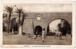 AK LIBYEN LIBIYA TRIPOLI LE PORTE DELLA CITTA VECCHIA   SCIALOM HAGGIAG EDITORE  FOTOGRAFIE OLD POSTCARD - Libyen