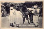 AK LIBYEN LIBIYA TRIPOLI BUSADIA IL BUFFONE LIBICO   SCIALOM HAGGIAG EDITORE  FOTOGRAFIE OLD POSTCARD - Libyen