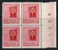 ITALIA - R.S.I. 1944 -  Monumenti Distrutti (1) - N.° 496 **  - Fil. Corona - Cat. 1,50 € - Lotto N. 1425 - 4. 1944-45 Social Republic