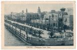 AK LIBYEN LIBIYA TRIPOLI PASSEGGIATA CONTE VOLPI OLD POSTCARD 1935 - Libyen