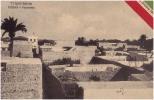 AK LIBYEN LIBIYA TRIPOLI   - TRIPOLITANIA DERNA - PANORAMA  7679. ELIOCROMIA FUMAGALLI & C. OLD POSTCARD 1911 - Libya