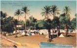 AK LIBYEN LIBIYA  DERNA - GUERRA ITALO - TURCA  ACCAMPAMENTO PRESSO LE TRINCEE OLD POSTCARD 1912 - Libyen