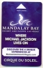 Mandalay Bay Hotel & Casino, Las Vegas, Used Magnetic Hotel Room Key Card # Mb-48 - Cartes D'hotel