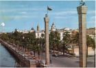 AK LIBYEN LIBIYA TRIPOLI ADRIANO PELT STREET  OLD POSTCARD 1963 - Libya
