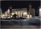 AK LIBYEN LIBIYA TRIPOLI CATHEDRAL SQUARE  OLD POSTCARD 1963 - Libya