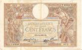 Billets De Banque/France / Banque De France/100Francs/1939               BIL56 - 100 F 1908-1939 ''Luc Olivier Merson''