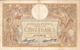 Billets De Banque/France / Banque De France/100 Francs/1935              BIL58 - 1871-1952 Frühe Francs Des 20. Jh.