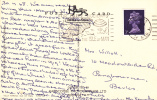 1968 SLOGAN - FOR HAPPY HOLIDAYS - THE ISLE OF MAN - Postmark Collection