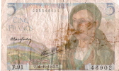 Billets De Banque/France / Banque De France/5 Francs/1943             BIL66 - 1871-1952 Anciens Francs Circulés Au XXème