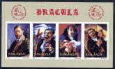ROMANIA 2004 Dracula Imperforate Block  MNH / **.  Michel 340B - Blocks & Sheetlets