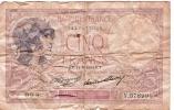 Billets De Banque/France / Banque De France/5 Francs/1933             BIL67 - 1871-1952 Antiguos Francos Circulantes En El XX Siglo