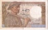 Billets De Banque/France / Banque De France/10 Francs/1949             BIL70 - 10 F 1941-1949 ''Mineur''