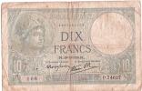 Billets De Banque/France /Banque De France/10 Francs/1939             BIL74 - 1871-1952 Anciens Francs Circulés Au XXème