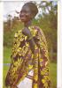 Jeune Femme En Costume Pour La Danse Adowa - Ghana - Gold Coast