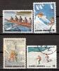 Greece 1983 / Mi 1515/16 , 1518/19 - Sports - Used (o) - Oblitérés