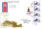 North Korea 1991 Air Mail For Switzerland - Lot. B16 - Korea, North