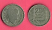 20 Francs - République Française - Algérie - 1949   (2435) - Algérie