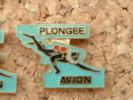 PIN´S PLONGEE - AVION - Diving