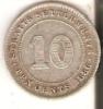 MONEDA DE PLATA DE STRAITS SETTLEMENTS DE 10 CENTS DEL AÑO 1886 (RARA) (COIN) SILVER-ARGENT - Colonias
