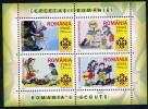 ROMANIA 2005 Scouting Block  MNH / **. Michel Block 357 - Blocks & Sheetlets
